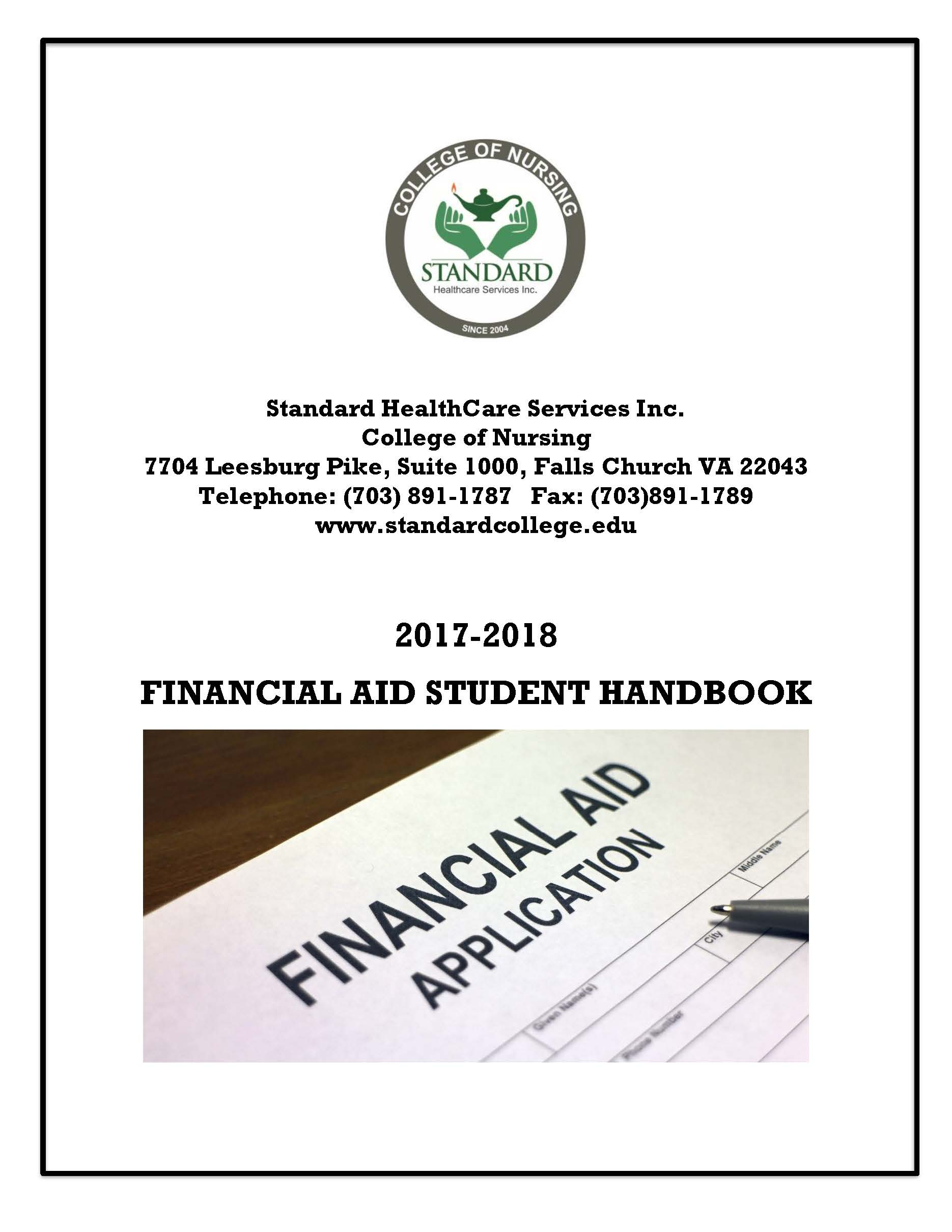 Financial Aid Policy Handbook